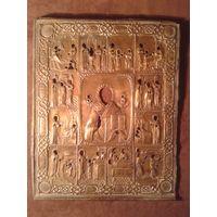 Оклад от иконы Житие Николая Чудотворца (редкий)
