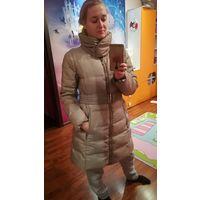 Пальто пуховое Zara 46-48