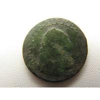"1 грош 1751-1755 Август-III ""толстый""  (под гербом цифра ""3"")"