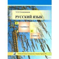 Э.В.Солодовникова.Русский язык в таблицах и схемах.