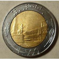 500 лир 1987 Италия