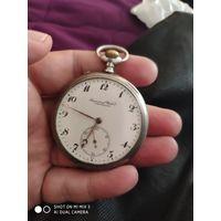 Карманные серебряные часы IWC Schaffhausen.