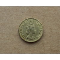 Джерси, 1/4 шиллинга (3 пенса) 1957 г.