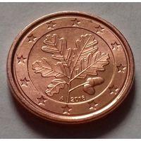 1 евроцент,  Германия 2016 A, UNC