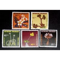 Малайзия 1975 г. Цветы. Флора, полная серия из 5 марок #0115-Ф1