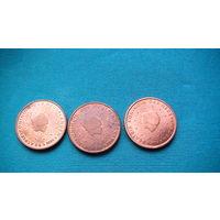 Нидерланды 2 евро цента 2003г.   распродажа