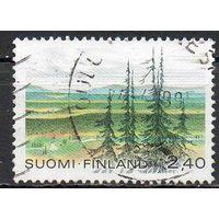 Природа Финляндия 1988 год серия из 1 марки