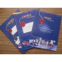 Журнал-каталог LINDNER Das Original - 3шт.