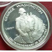 США 1/2 доллара 1982. Дж. Вашингтон. Пруф