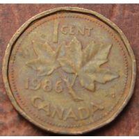 5670: 1 цент 1986 Канада