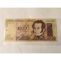 Венесуэла 10.000 боливаров 2004 года пресс