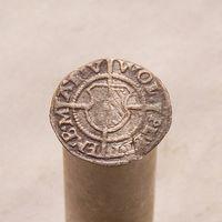Шиллинг 1532 Ливонский орден гроссмейстер Вольтер Плеттенберг (1494-1535) Рига