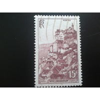 Франция 1946 ландшафт