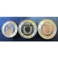 Мальта. 10, 20, 50 центов 2008 года