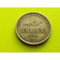 Турция. 100000 лир 1999.