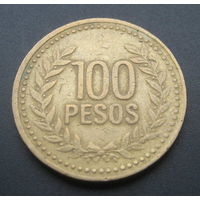 Колумбия 100 песо 1994г.