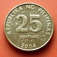 112-14 Филиппины, 25 сентимо 2004 г.