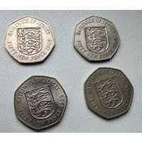 Джерси 50 новых пенсов, 1969 6-9-1.2.4.6