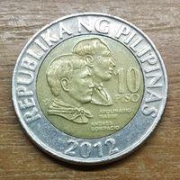Филиппины 10 песо 2012 Распродажа коллекции
