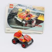 Гоночная машинка LEGO с инструкцией