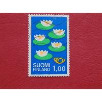 Финляндия 1977г. Флора.
