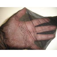 Чулки бу женские черный цвет Италия (не пара, 1 шт)