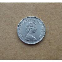 Джерси, 5 новых пенсов 1968 г.