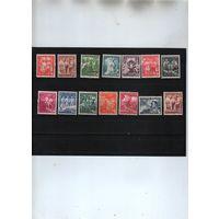 1938г ПОЛЬША Историческая серия 14х-марок**