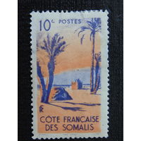 Французский Сомали 1947 г. Флора.