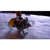Бутылка фигурная (Слоник) 50 млл. стекло. распродажа