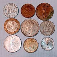 Монеты разных стран мира с рубля. Лот 16.