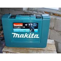 Шуруповёрт Makita DDF454RFE очень мощный 80 Nm