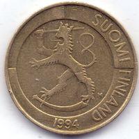 Финляндия, 1 марка 1994 года, М.