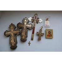 5 современных крестов, включая нательный и 2 иконки