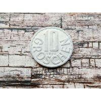 Австрия. 10 грошей 1995.