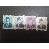 Индонезия 1986 президент Сухарто