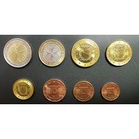 Мальта, набор монет евро