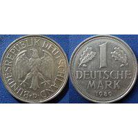 ФРГ, 1 марка 1989 D. монетный двор Мюнхен