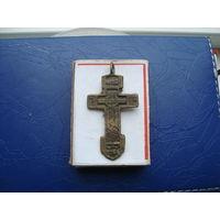 Редкий старинный нательный крестик       (3229)