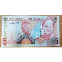 5 даласи 2013 года - Гамбия - UNC