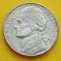5 центов 2002 Р США
