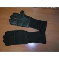Перчатки - варежки армейские шерстяные пятипалые