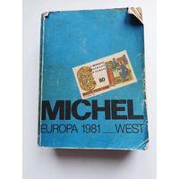 Каталог Michel 1981 EUROPA WEST