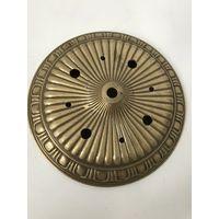 Часть, элемент, деталь потолочная от люстры Латунь/бронза