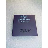 Ретро процессор Intel Pentiumм w/MMX A80503166 SL27K