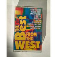 "Аудиокассета ""The Best From The West"" 1996 год"