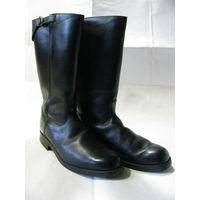 "Сапоги кожаные мужские на подошве ""Continental"". Германия. мех лайка на голенище, размер 43"