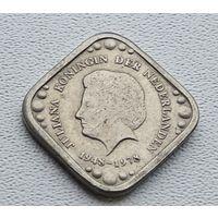 Нидерланды 5 центов, 1978 30 лет правления Королевы Юлианы 8-2-27