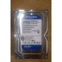 Новые  Western Digital Blue WD500AZLX -500 Gb  Seagate Pipeline HD 500 Гб (ST3500312CS)