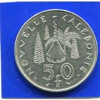 Новая Каледония 50 франков 1972